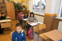 И първокласниците имаха нова учителка.
